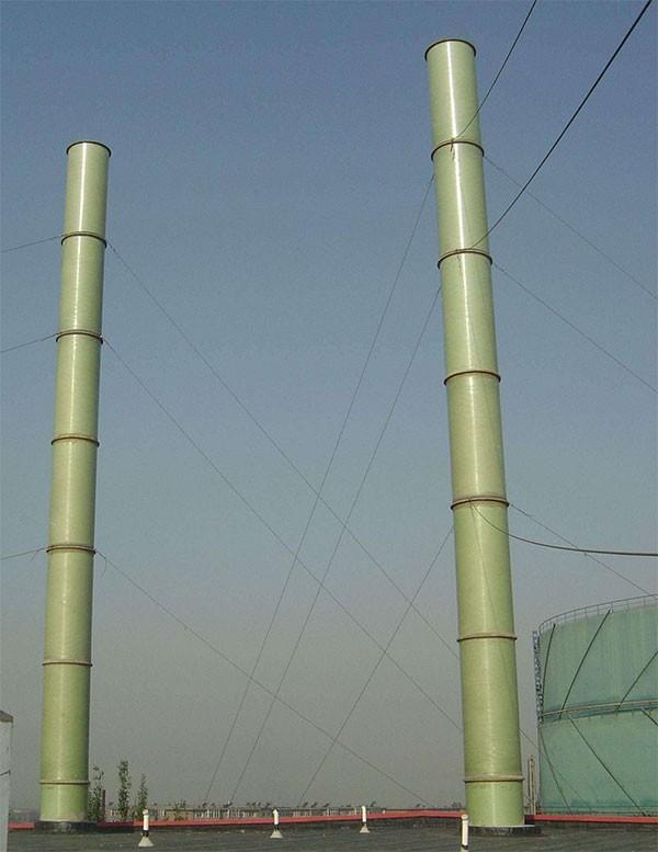 烟囱玻璃鳞片防腐可以降低工程造价