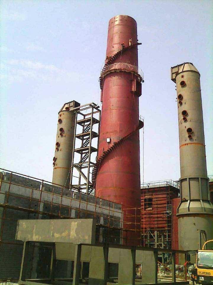 钢烟囱防腐