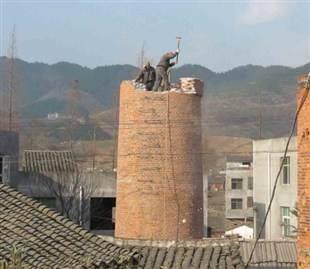 砖烟囱维修
