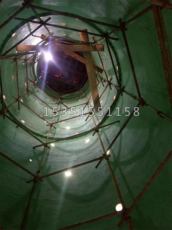 钢烟囱内壁防腐