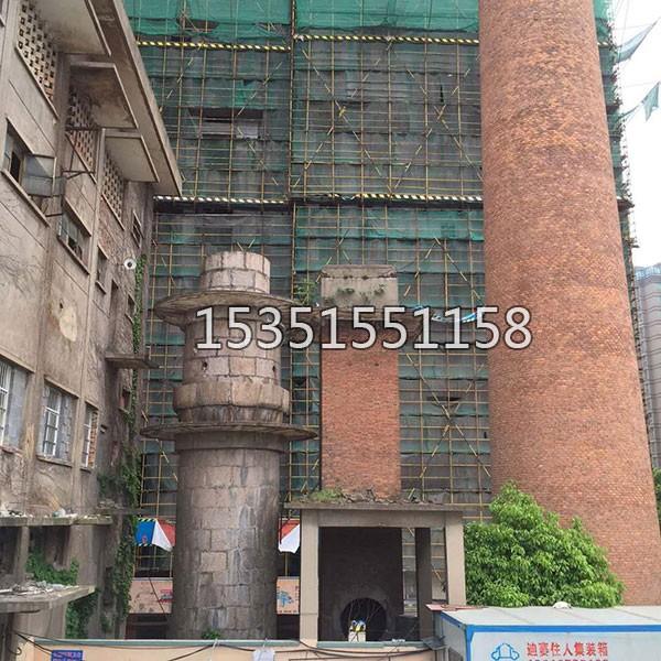 60米砖烟囱防腐改造