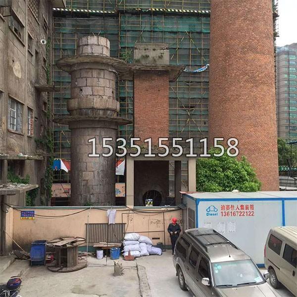 45米砖烟囱防腐改造施工方案(图1)