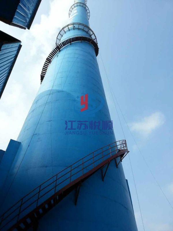 100米烟囱安装爬梯及监测平台施工方案/