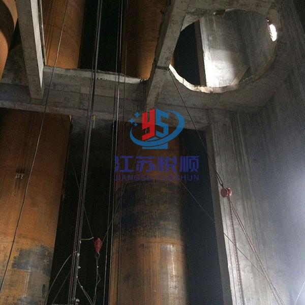 烟囱防腐改造-钛钢复合板