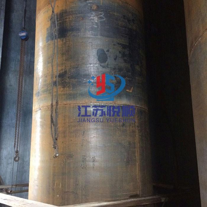 发电厂湿烟囱防腐—耐酸耐热混凝土烟囱钛钢内筒施工(图1)
