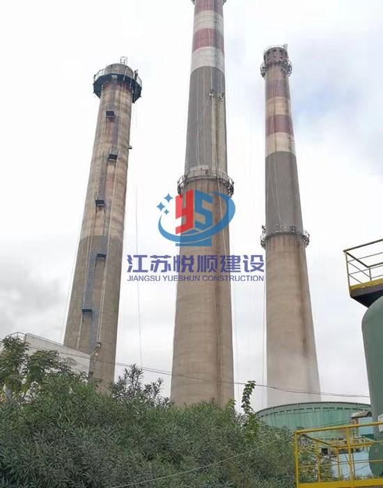 120米砼烟囱防腐