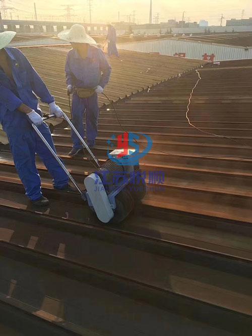 厂房彩钢瓦喷漆翻新防腐施工