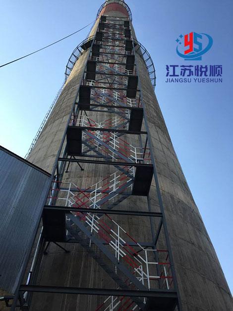 烟囱安装Z型爬梯