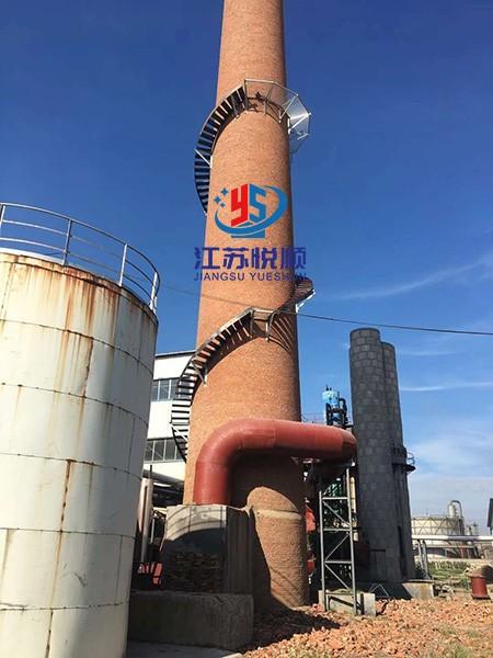 烟囱安装爬梯平台